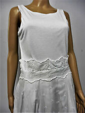 DESIGNER PAUL SMITH BLACK WHITE EMBROIDERED DRESS SIZE 10 /12 IMMACULATE REF-II