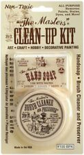 Original B&J 'The Masters' Clean Up Kit Artist Hand Soap & Paint Brush Cleaner