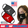 Michael Jordan MJ Jumpman Cotton Washable Reusable Unisex Face Mask MADE IN USA