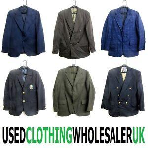11 GRADE B MEN'S VINTAGE SMART BLAZERS SUIT JACKETS WHOLESALE CLOTHING JOB LOT