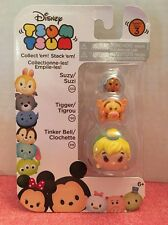 NEW ~Disney TSUM TSUM- Series 3-Suzy, Tigger & Tinker Bell -Ready To Ship