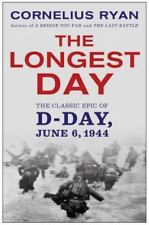 THE LONGEST DAY by Cornelius Ryan paperback book FREE SHIPPING D-Day WWII
