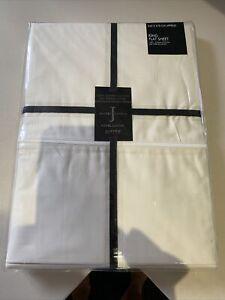Jasper Conran cream 100% Supima Cotton 500 Thread King Size Flat Sheet