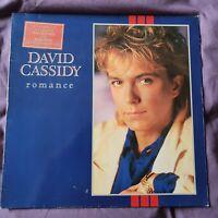 "DAVID CASSIDY:""ROMANCE"".1983 GERMAN ARISTA.NEAR MINT UPGRADER+LYRICS INNER."