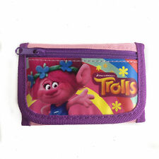 Dreamworks Trolls Poppy Children Girll's Tri Fold Wallet Birthday Party Filler