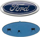 Ford Emblem 9 Inch F150 Front Grill / Tailgate Blue / Chrome 2004-2014  for sale
