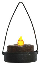 New ListingHanging Tealight Candle Holders Set of 2 Rustic Primitive Decor Iron Hearthside