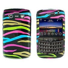 Colorful Zebra Hard Case Cover for BlackBerry Bold 9700