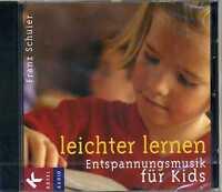 Leichter lernen Entspannungsmusik für Kids Franz Schuier CD 9783466457670 KI2104
