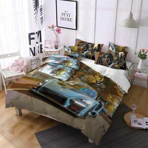 3D Forza Design Bedding Set Duvet Cover and Pillowcase Gift Single Double King