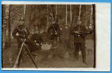 CPA PHOTO: Soldats du Jäger-Bataillon Nr. 11 / 1914