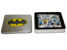 DC Comics Official 'Batman & Robin' Colour Bi Fold Wallet in a Tin Gift Box