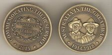 World War I WWI Collectable Medallions (1914-1918)