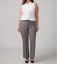Lane Bryant Lena Tailored Stretch Plaid Trouser, Size 22 Regular, NWT