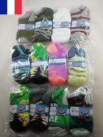 3 X Paire de Chaussettes pour Enfant Pointure 17 - 22 Divers Motifs Au Choix