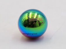 Mugen 6 Speed Neo Chrome Racing Aluminum Ball Shift Knob Shifter Head for HONDA