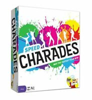 Speed Charades Fast-Paced Family Party Game Board BRAND NEW SEALED