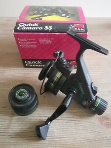 Vintage D.A.M Quick Camaro 35 Fishing Reel In Pristine Condition Boxed