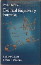 Pocket Book of Electrical Engineering Formulas by Dorf & Tallarida 1993 NEW