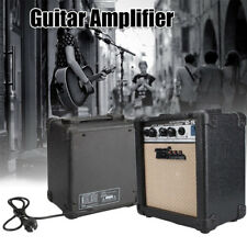 Portable Electric Guitar Amp Amplifier Speaker w/ Volume Treble Bass Control 10W