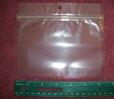 """20 New Zip Lock Worm Bags for Soft Plastic Baits  6"""" x 4"""""""
