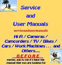 PANASONIC   SERVICE MANUAL