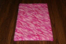 New Pink Camo Print #3 Fleece Dog Cat Pet Carrier Crate Blanket Free S/H! Bcr
