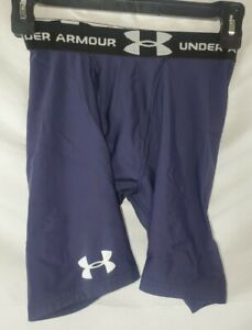 UNDER ARMOUR Men's Small Purple Compression Shorts