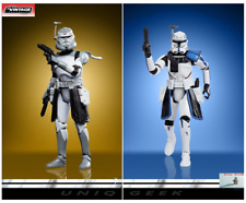 Star Wars The Vintage Collection Clone Commander Wolffe | Captain Rex Figure *Po