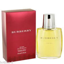 Burberry Cologne Perfume For Men Eau De Toilette Spray 3.4 oz 100 ml New In Box