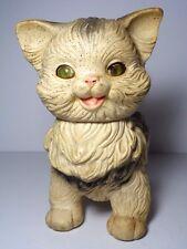 Childrens Vintage 1960 Edward Mobley Cat Squeeze Toy Arrow Rubber & Plastics Co