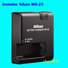 Genuine Nikon MH-25 MH-25a Charger for EN-EL15 EL15a EL15b D810 D610 D7200 D7500