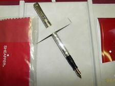 Sheaffer Nostalgia Engraved Sterling Silver Fountain Pen New In Box 1024