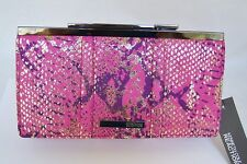 Kenneth Cole Pink Fabric Clutch Womens Wallets  $56