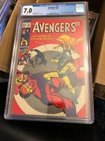 Avengers #59, CGC FN/VF 7.0, 1st Appearance Yellowjacket