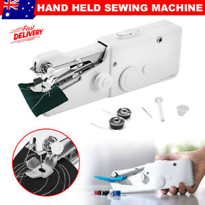 Mini Cordless Sewing Machine Portable Hand Held Multi-Function Clothes Stitching