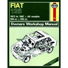 Fiat 126 Hyanes Manual 1973-87  594cc 652cc Petrol Workshop
