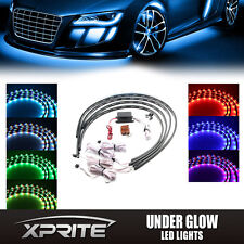 7 Color New Version 5050 SMD LED Strip Under Car Truck underglow Neon Lights Kit