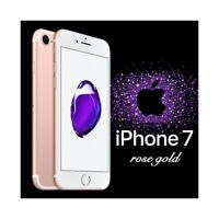 """SMARTPHONE APPLE IPHONE 7 32GB ROSE GOLD ROSA 4,7"""" TOUCH ID 3D 4G 12MPX-"""