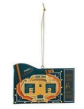 San Jose Sharks Team Scoreboard Ornament