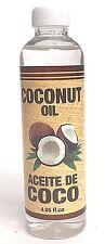 Aceite De Coco Puro Para El Cabello Natural Restaura La Vitalidad De Tu Pelo 4oz