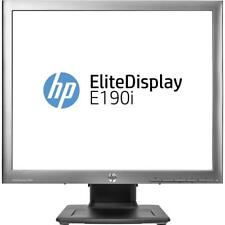 "LOT OF 4 HP EliteDisplay E190i 19"" IPS LED Monitor stunning color integrity LCD"