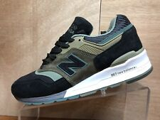 "NEW BALANCE  M997PAA Made in USA ""Military Pack"" Black/Green Sneaker Mens 7.5"
