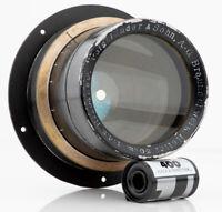 Voigtlander Heliar 300mm F 4.5 8x10 5x7 portrait lens wet plate