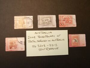 2009 Bicentenary of Postal Services in Australia 2nd Issue Used self adhesive