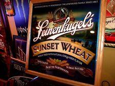 Leinenkugels Beer Mirror Sign & Miller Lite Bud Light Pabst Coors NFL Coasters*