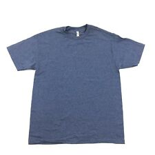 NEW Plain Tee Shirt short Sleeve Relaxed Fit Size L Large Men Work Casual Tshirt