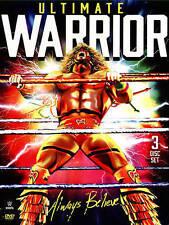 WWE: Ultimate Warrior - Always Believe (DVD, 2015, 3-Disc Set) NEW/SEALED