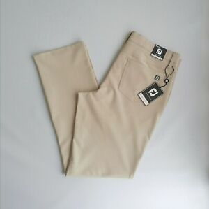 FootJoy FJ Performance pants Men's Khaki W34 L32 Summer fit