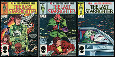 Last Starfighter Comic Set 1-2-3 Lot Video Game Movie Adaptation Bag & Boarded